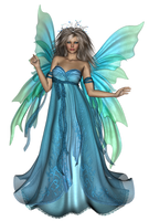 Fairy light blue by TamaraWiditz