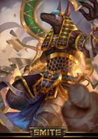 Anubis by Mrahart