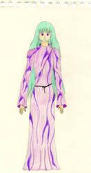 purple komono girl by lovesfantasystuff