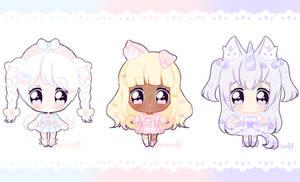 Set Price Fluffian Adopts - OPEN [2/3] by Cakiiebun