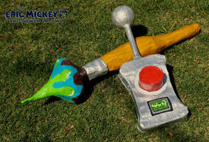 'Epic Mickey: The Power Of Two' Props by The-Katherinator