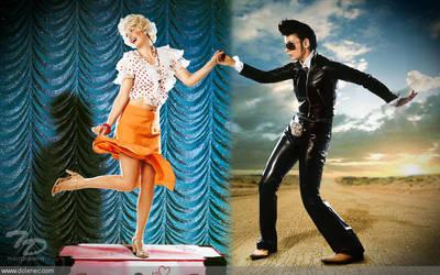 Merlin vs Elvis by Dolenec
