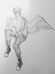 sweet angel boy by momoseiu