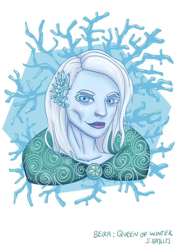 Beira Queen Of Winter By Angelsmurf18 On Deviantart