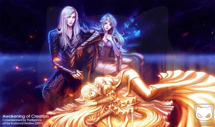 Commission : Awakening of Creation by KodamaCreative