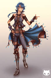 Calide (Commission) by KodamaCreative