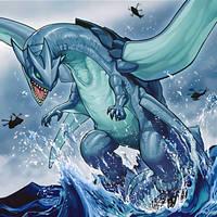 Gameciel, the Sea Turtle Kaiju by ParryDox