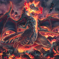 Dogoran, the Mad Flame Kaiju by ParryDox