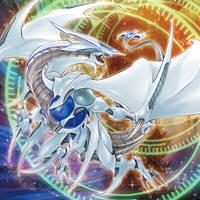 Cosmic Blazar Dragon by ParryDox
