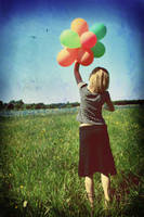Her.Balloon.Happiness. by hatred103