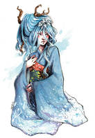 :Gift: Fuyu in Winter by A-nako