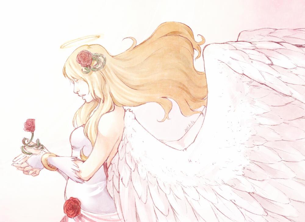 :Gift: Pure goddess by A-nako