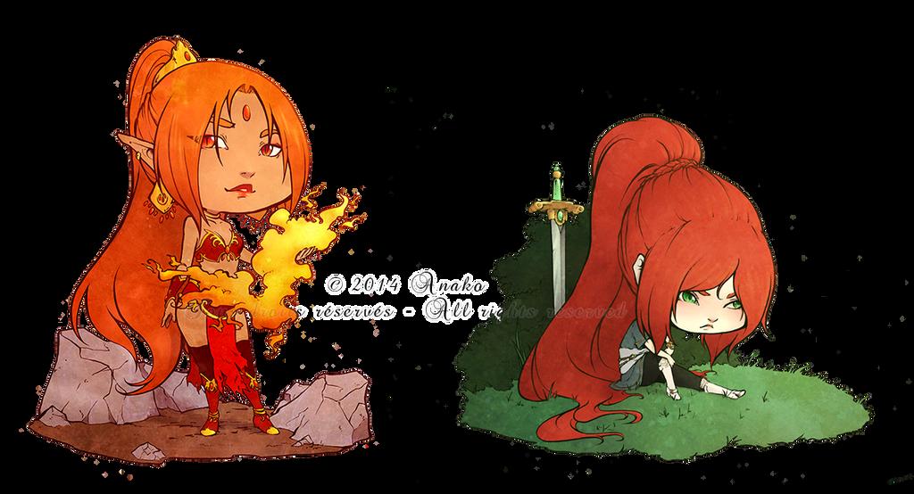 :COM: Fire and spade by A-nako