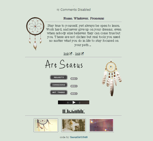 dreams   non-core code f2u by SnowGirl1548