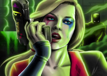 Harley Quinn by Huang-Jun