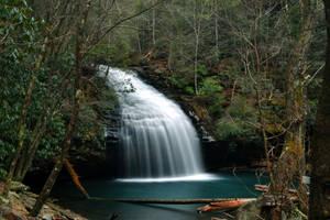 Stinging Fork Falls by notneb82