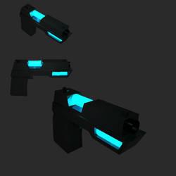 Plasma Gun 3D by NiranAroon