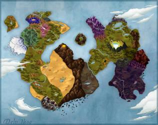 AzureHowl - Delv Ihoo map by AzureHowlShilach