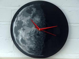 The moon by serwu