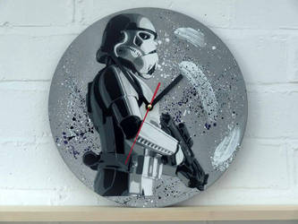 stormtropper on old record by serwu