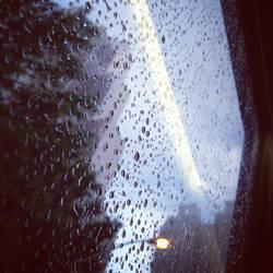 Bus View - Georgia Pacific in the Rain by wiebkefesch