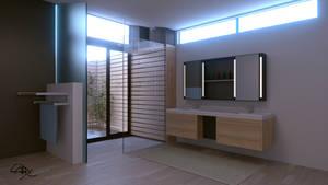 Bathroom by cabalito31000
