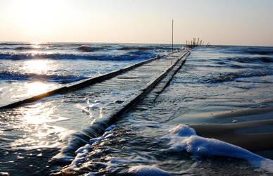 Jesolo Beach, Italy by whisperwish