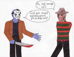 Freddy's Fleshwound by Dragon-hobbit101