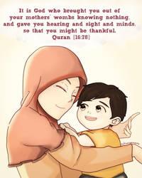 Mother's Love by Rahimi-AF