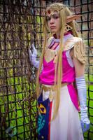 Zelda: Waiting for Her Hero by VandorWolf