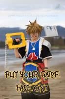 Sora: Game Face by VandorWolf