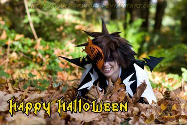 Sora: Happy Halloween by VandorWolf