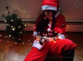 Yuri Lowell: Christmas Mess by VandorWolf