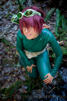 Artemis Fowl Holly Short By Vandorwolf On Deviantart