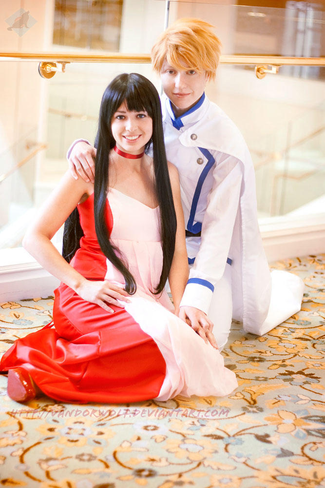 Sailor Moon: Mars and Jadeite by VandorWolf