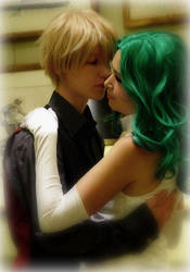 Sailor Moon: Haruka and Michiru by VandorWolf