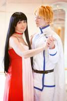 Sailor Moon: Mars and Jadeite 2 by VandorWolf