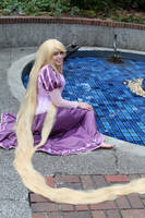 Tangled- Rapunzel by VandorWolf