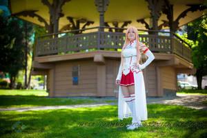 SAO Sword Art Online: Asuna by VandorWolf