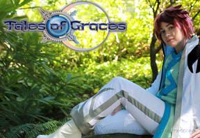Tales of Graces- Asbel Lhant WIP by VandorWolf