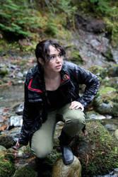 The Hunger Games- Katniss Arena Cosplay by VandorWolf