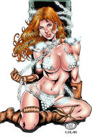 RED SONJA by malabim