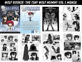 Wolf Rookie The Tiny Wolf Mummy Manga Vol.1 +SALE+ by krystlekmy