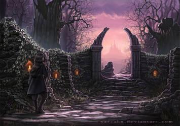 Sanctuary's Path by Xarcahn