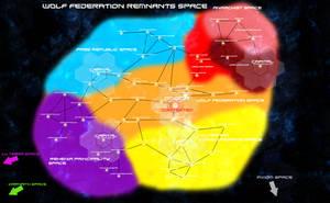 United Federation Civil War Map by EmperorMyric