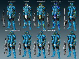 Union Squad Layout by EmperorMyric