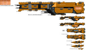 United Federation Warships by EmperorMyric
