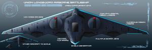 Longsword Airborne Battleship by EmperorMyric