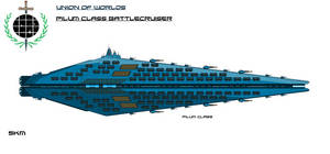 Union Pilum Class Battlecruiser by EmperorMyric