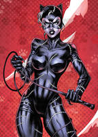 Catwoman Color by CottonyHotchkiss